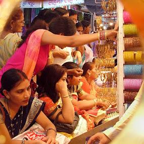 bangle shopping by Rajesh Kumar - News & Events World Events