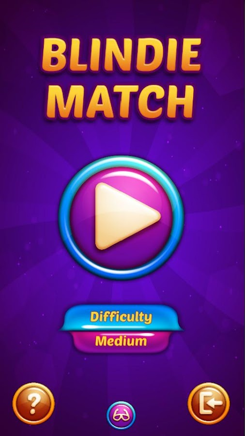 Blindie Match (accessible)- screenshot