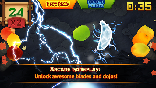 Fruit Ninja Classic - screenshot