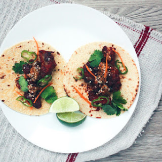 Korean Fried Chicken Tacos