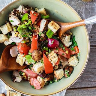 Summer Bounty Grilled Panzanella Salad.