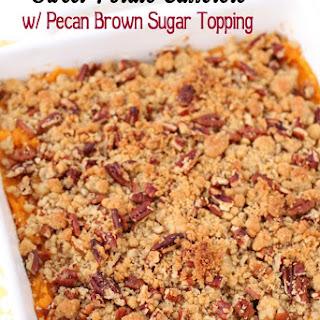 Brown Sugar Topping Sweet Potatoes Recipes