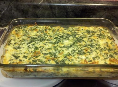 """Spinach Casserole (low fat and low carb) """"This was really good. I..."""