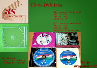 Photo: CD és DVD írás