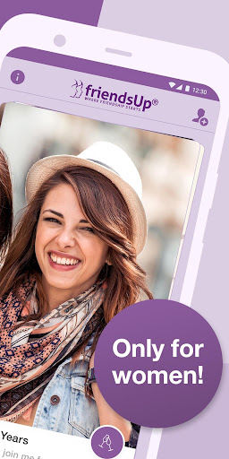 friendsUp u2013 Find new female friends screenshots 2