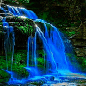 Blue Fall Magic LWP