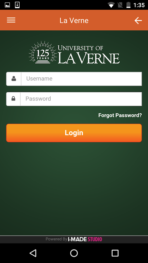 myLaVerne- screenshot