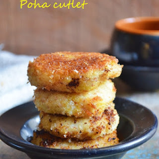 Aval cutlet recipe | Poha cutlet