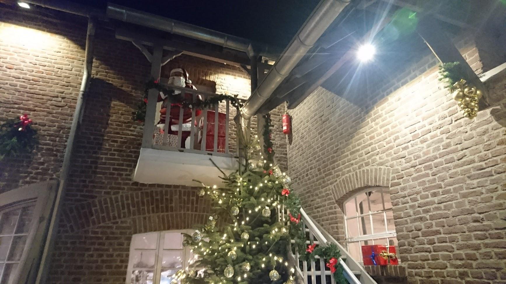 Historischer Weihnachtsmarkt Rittergut Birkhof Nikolaus