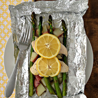 Lemon Chicken & Veggies Foil Packet Dinner