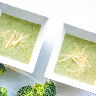 Light Cream of Broccoli Soup.