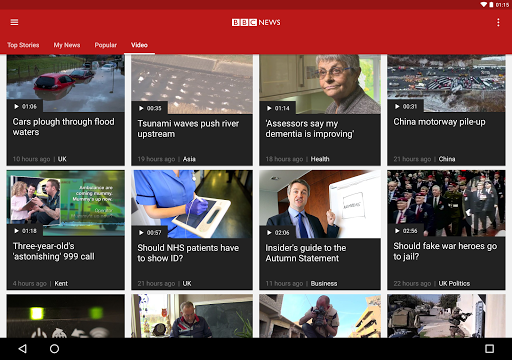 BBC News app (apk) free download for Android/PC/Windows screenshot