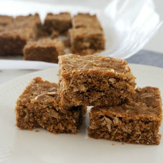 Thermomix Anzac Slice.
