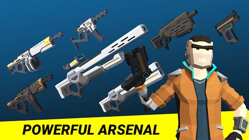 Cyber Fortress: Cyberpunk Battle Royale Frag Squad 1.6 screenshots 3