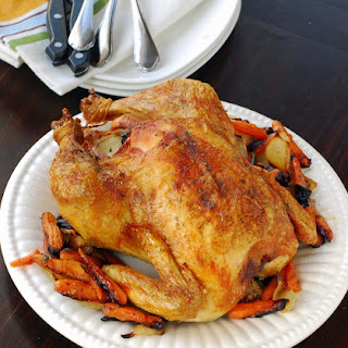 Roast Chicken with Sage and Garlic