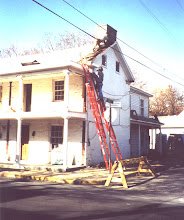 Photo: 401-403 S. Kent St. Roof Repairs
