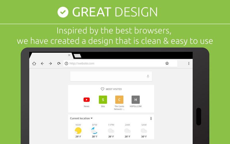Free Adblocker Browser - Adblock & Popup Blocker Screenshot 17