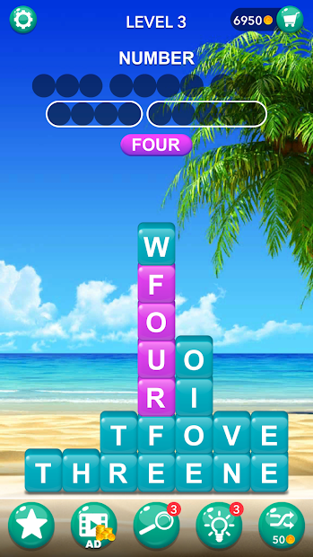 Word Tiles : Hidden Word Search Game Android App Screenshot
