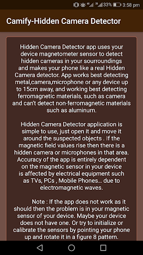 Download Camify-Hidden Camera Detector on PC & Mac with AppKiwi APK
