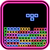 Neon Block Break Puzzle
