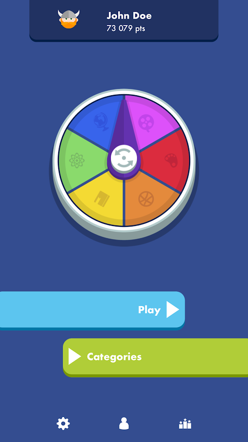 Trivial Quiz- screenshot