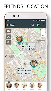 GPSme Friends & Family Phone Tracker- screenshot thumbnail