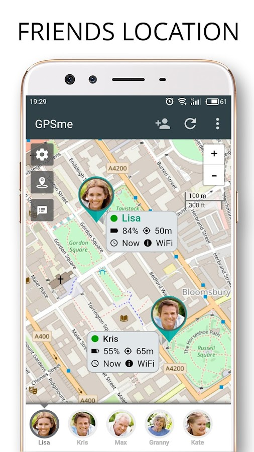 GPSme Friends & Family Phone Tracker- screenshot