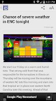 Screenshot of WCTI News Channel 12