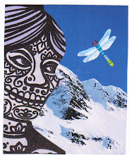 Photo: Wenchkin's Mail Art 366 - Day 203 - Card 203a