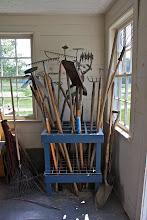 Photo: Wish I had this to organize my garden tools!