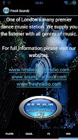 Screenshot of Fresh Soundz Radio UK