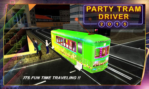 Party Tram Driver 2015