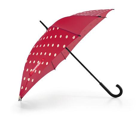 Paraply Stick Stormsäkert Ruby Dots