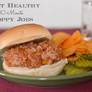 30-Minute Heart Healthy Sloppy Joes.