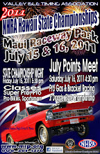 Photo: Bruce Wheeler's photos from Maui Raceway Park, Saturday, July 16, 2011   These images are fully copyrighted, usage without formal permission is prohibited by law. (In other words; try ask fo' use 'em...please.)  DVDs of all full-size, high resolution images are available. For pricing, please inquire c/o wheelerdealer @ maui-angels . com  To see all of my Maui drags albums go here: https://picasaweb.google.com/115007308076880016720  Please visit my personal drag racing web pages: http://www.maui-angels.com/wheelerdealer  For track info: http://www.mrp.org  On Facebook: https://www.facebook.com/maui.raceway.park?fref=ts  https://www.facebook.com/pages/Bruce-Wheelers-Wheeler-Dealer-AAFuel-Dragsters/119133934834675?ref=ts&fref=ts  Poster art by Mark Caires Designs