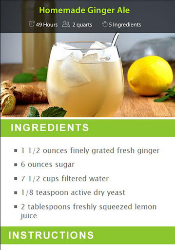 Ginger Drink Recipes screenshot 6