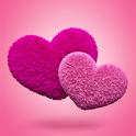 Fluffy Hearts Live Wallpaper icon