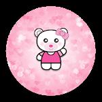 XP Theme Beauty Pink Bear Icon