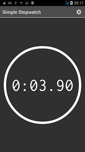 Simple digital stopwatch –free