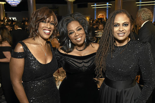 Gayle King, Oprah Winfrey and Ava DuVernay. Picture: GETTY IMAGES/MICHAEL KOVAC