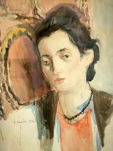 Photo: The Artist's Daughter Elena 1958
