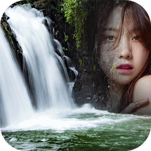 Waterfall Frames Photo Editor