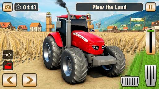 Real Tractor Driver Farm Simulator -Tractor Games 1.2 screenshots 8