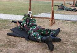 Latihan Menembah TNI Angkatan Darat
