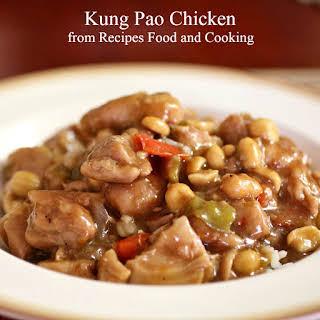 Pressure Cooker Kung Pao Chicken.