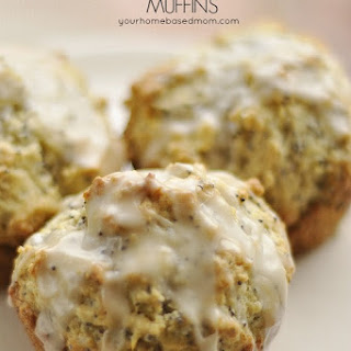 Lemon Poppy Seed Muffins}Muffin Monday