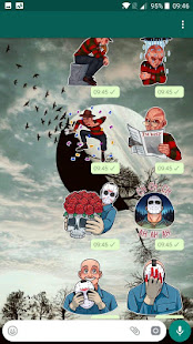 Cinema stickers for WhatsApp 1