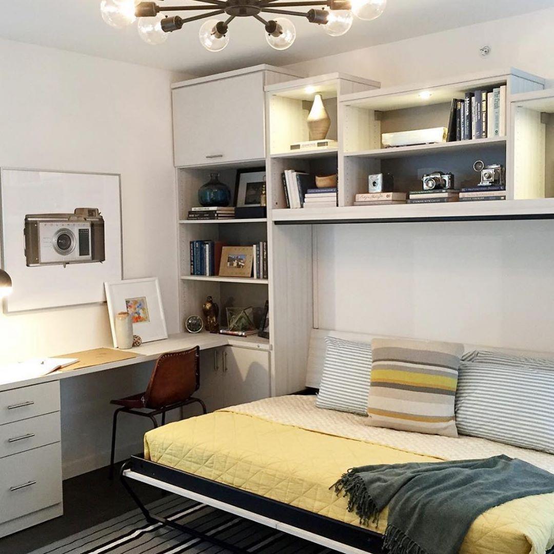 Create a Combination Bedroom/Office for Men's Bedroom Ideas