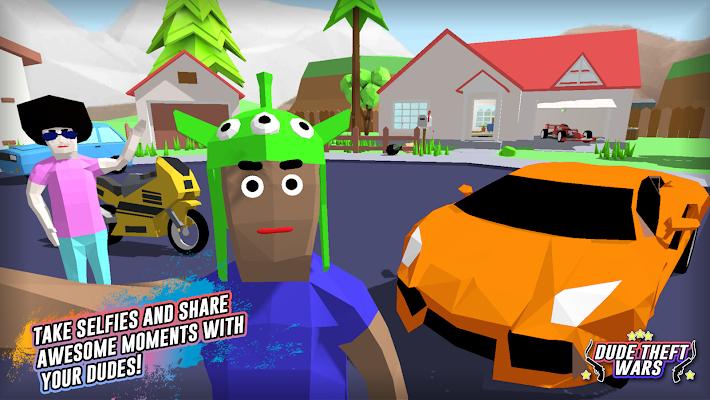 Dude Theft Wars Screenshot Image