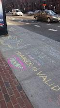 Photo: 4.18.15 4.18.15 GF Boston Mass Ave T Stop feminist take over